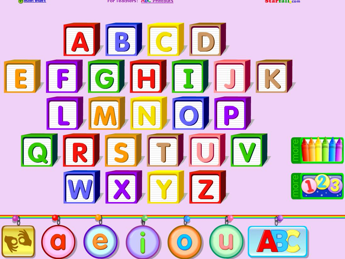 ABC's Alphabet Letters